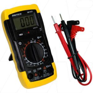 Digitech Data Hold Digital Multimeter (DMM) with Backlight, QM1523