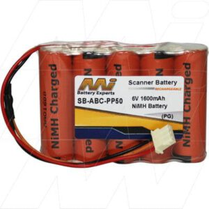 ABC PP50 Pocket PC & PDA Battery 6V 1.6Ah NIMH SB-ABC-PP50