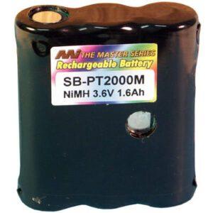 3.6V 1650mAh Percon/PSC PT2000 SB-PT2000M Battery