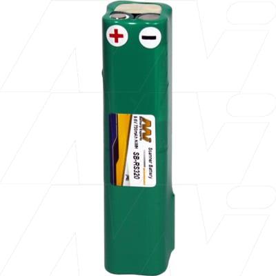 Allflex RS320 Barcode Data Terminal Battery 9.6V 730mAh NIMH SB-RS320