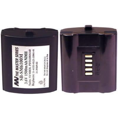 Symbol PDT6100 Barcode Data Terminal Battery 3.6V 1.45Ah NIMH SB-SM6100M
