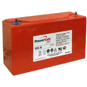 12V Sealed Lead Tin PowerSafe SBS 26000mAh, PowerSafe, SBS30