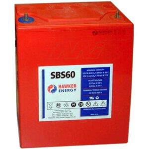 12V Sealed Lead Tin PowerSafe SBS 51000mAh, PowerSafe, SBS60