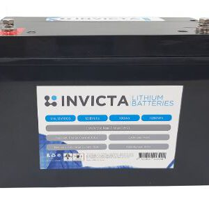 Invicta Lithium Iron Phosphate 12V 100Ah Battery SNL12V100S