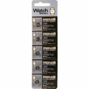 1.55V Silver Oxide Button / Coin Cell 60mAh, Maxell, SR927W-BP5