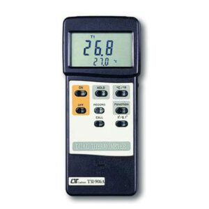 Lutron Thermometer - Multi Function + Rs232 Probe Optional, TM906A