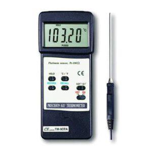 Lutron Presision Thermometer 0.01c Pt100 Probe Optional, TM907A