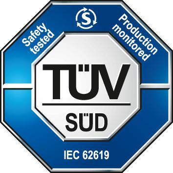TUV Mark IEC certification