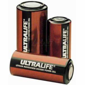 3V 1&1/4C Lithium Manganese Hi-Rate Cylindrical Cell 5600mAh, Ultralife, U2560HCE