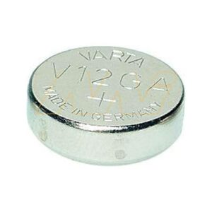 1.5V 80mAh Button / Coin V12GA BP1 Alkaline Specialised Button / Coin Cell, Varta
