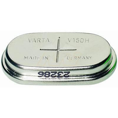1.2V RBC Nickel Metal Hydride - NiMH Button / Coin 140mAh, Varta, 1/V150H