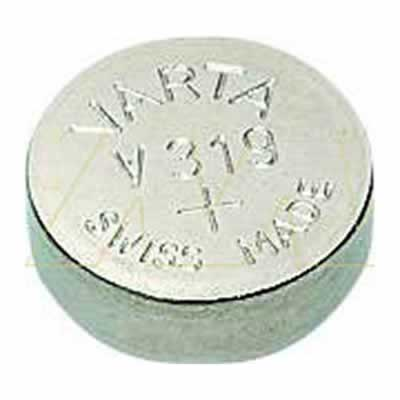 1.55V Silver Oxide Button / Coin Cell 16mAh, Varta, V319-TN1