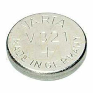 1.55V Silver Oxide Button / Coin Cell 13mAh, Varta, V321-TN1