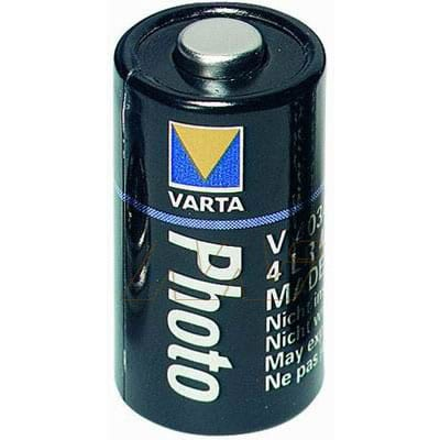 6V Alkaline Specialised Cylindrical Cell 100mAh, Varta, V4034PX-BP1