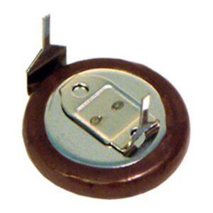 3V Button / Coin Lithium Vanadium Pentoxide Rechargeable Cell 7mAh, Panasonic, VL1220-1HFE