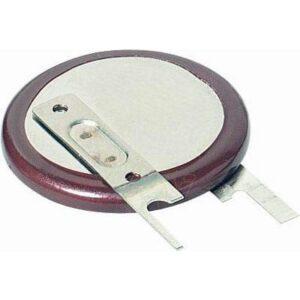 3V Button / Coin Lithium Vanadium Pentoxide Rechargeable Cell 50mAh, Panasonic, VL2330-1VCE