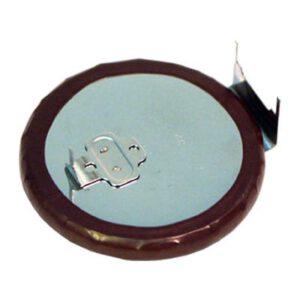 3V Button / Coin Lithium Vanadium Pentoxide Rechargeable Cell 100mAh, Panasonic, VL3032-1GUF
