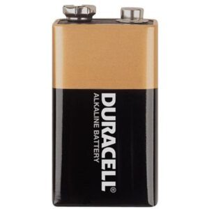 9V Alkaline Consumer Cell Coppertop, Duracell, 30005995 / MN1604