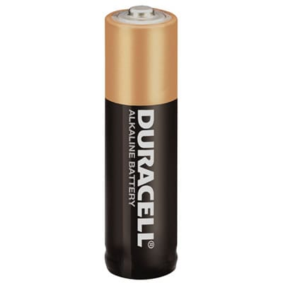 1.5V AA Alkaline Consumer Cylindrical Cell Coppertop, Duracell, 30005996 / MN1500