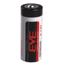 3.6V A Fat 4000mAh Lithium Thionyl Chloride ER18505, EVE