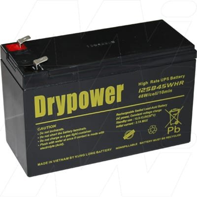 12V 9000mAh SLA Powerware UPS 12SB45WHR Battery