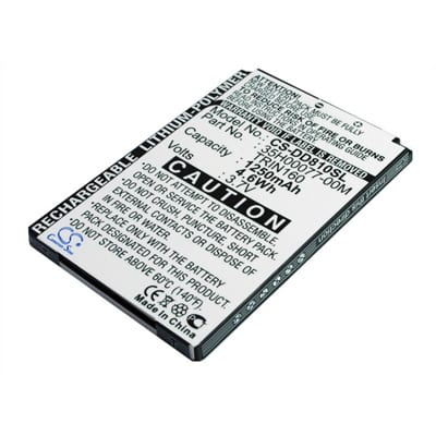 3.7V 1600mAh Verizon XV6800 XV-6800 DD810SL