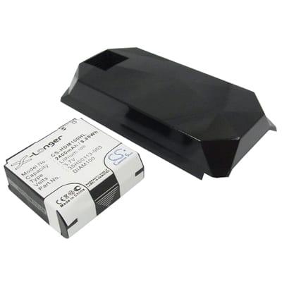 3.7V 2400mAh HTC Diamond HDM100HL Battery