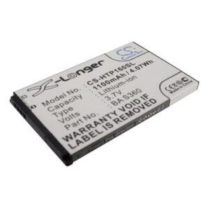 3.7V 1100mAh O2 Xda Diamond 2 HTP160SL Battery