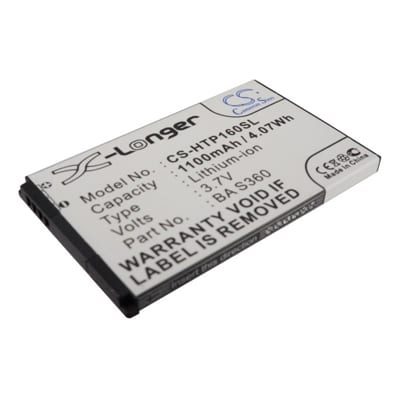 3.7V 1100mAh O2 Xda Diamond 2 HTP160SL Battery