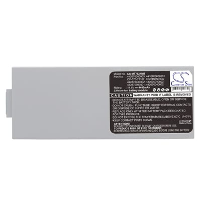 14.8V 4400mAh Packard Bell 2800 MT7521NB Battery