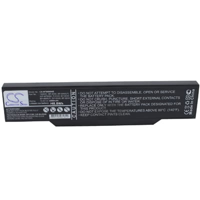 10.8V 4400mAh Mitac MiNote 8066 MT8066NB Battery