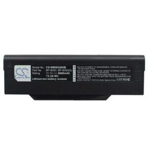 11.1V 6600mAh NEC Versa M540 WBW320HB Battery