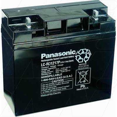12V 17000mAh SLA Dynatech UPS LC-RD1217P Battery
