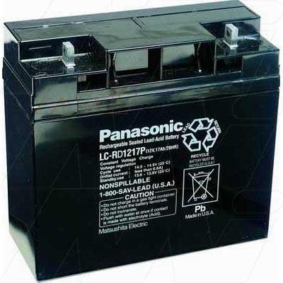12V 17000mAh SLA Powerware UPS LC-RD1217P Battery
