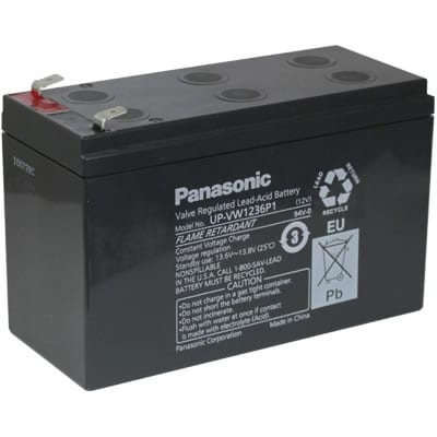 12V 7200mAh SLA Genera Pow UPS UP-VW1236P1 Battery
