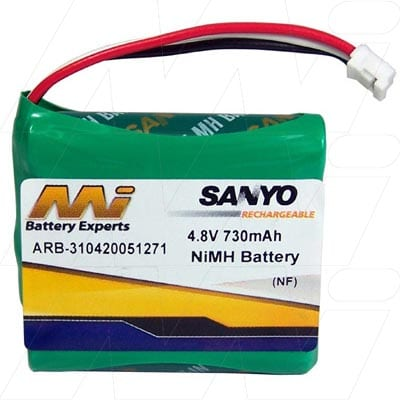 4.8V Philips Pronto RU950 ARB-310420051271 Battery