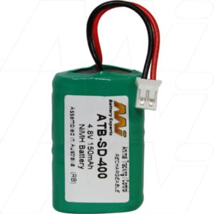 4.8V Kinetic MH120AAAL4GC ATB-SD-400 Battery