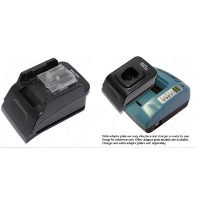 Power Tool Battery Adaptor Plate Mst 18V LiIon for ACMTE Power Tool Battery Charger, Mst, ATP830