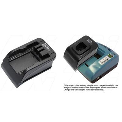 Power Tool Battery Adaptor Plate Mst 7.2V - 18V NiCd / NiMH for ACMTE Power Tool Battery Charger, Mst, ATP981