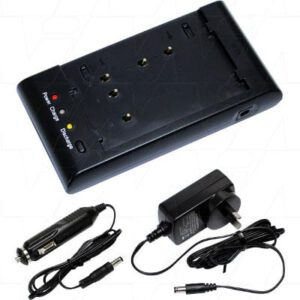 Intelligent Multi-Charger of NiCd/NiMH Camcorder and Digital Camera Battery Packs, Mst, AVCAHMSA