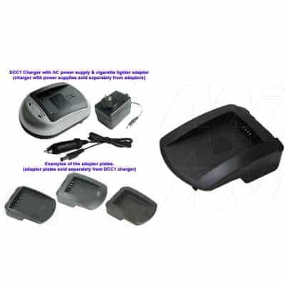 Panasonic DMW-BLB13 Camera Charger Adaptor Plate, Enecharger, AVP139