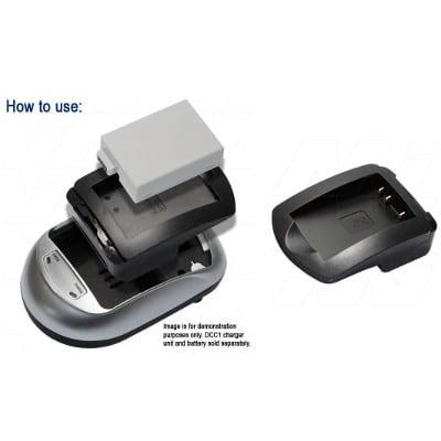 Pentax EI-D-Li1 Camera Charger Adaptor Plate, Enecharger, AVP1821