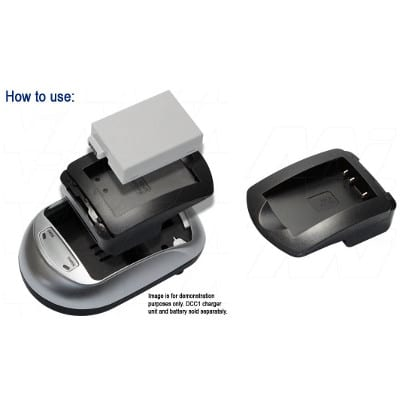 Mst DCB-EIDLi1 Camera Charger Adaptor Plate, Enecharger, AVP1821