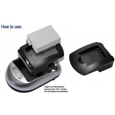 Panasonic DMW-BCL7 Camera Charger Adaptor Plate, Enecharger, AVP373