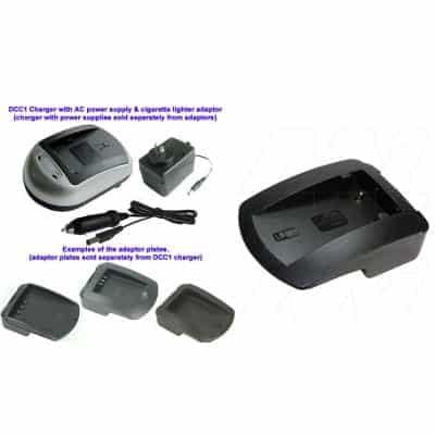 Panasonic CGA-S101 Camera Charger Adaptor Plate, Enecharger, AVP7