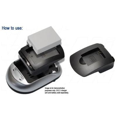 Mst VB-AHDBT-003-BP1 Camera Charger Adaptor Plate, Enecharger, AVP732