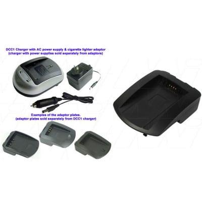 JVC BN-V101 Camera Charger Adaptor Plate, Enecharger, AVP80