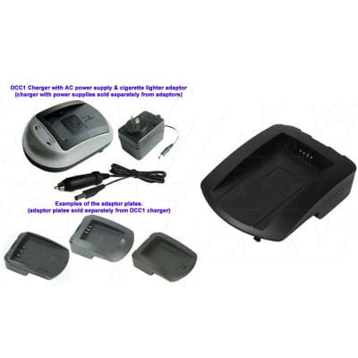 Fujifilm NP-100 Camera Charger Adaptor Plate, Enecharger, AVP80