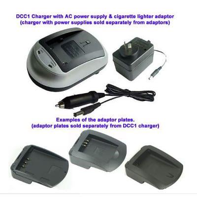 Mst DCB-LP-E6 Camera Charger Adaptor Plate, Enecharger, AVP836