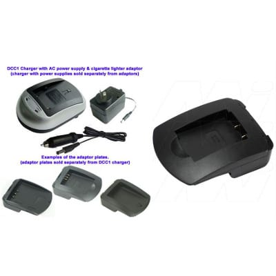 Mst VB907 Camera Charger Adaptor Plate, Enecharger, AVP907